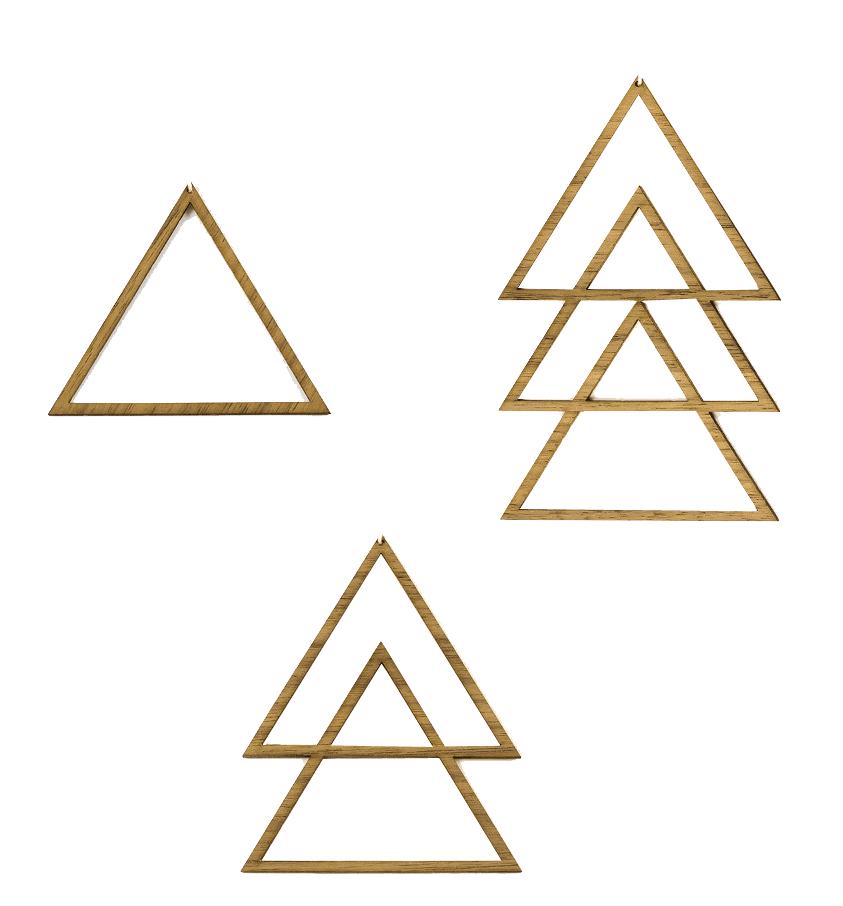 Triangel 3 Teile Set